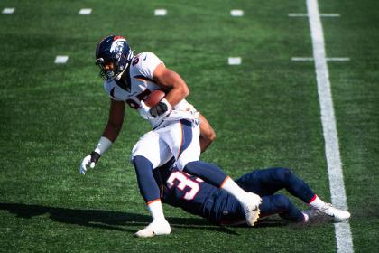 Denver Broncos Wide Receiver Tim Patrick